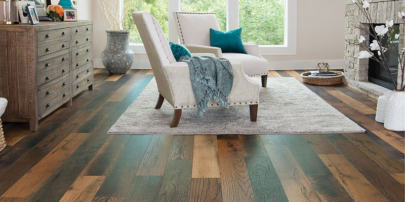 Which flooring material is trending in 2021?
