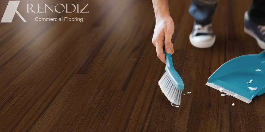 Spring cleaning your space? Here is how to take care of your flooring