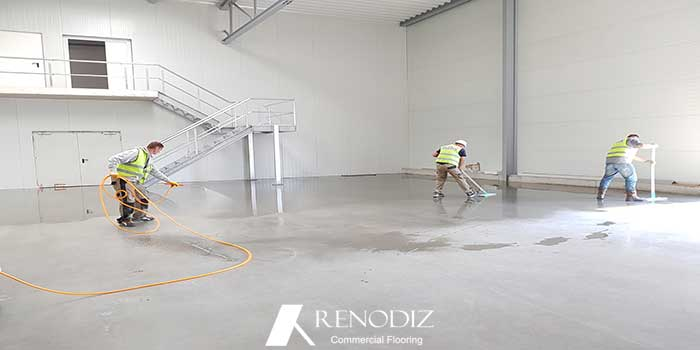 Polished Concrete, the good old concrete with a new look!