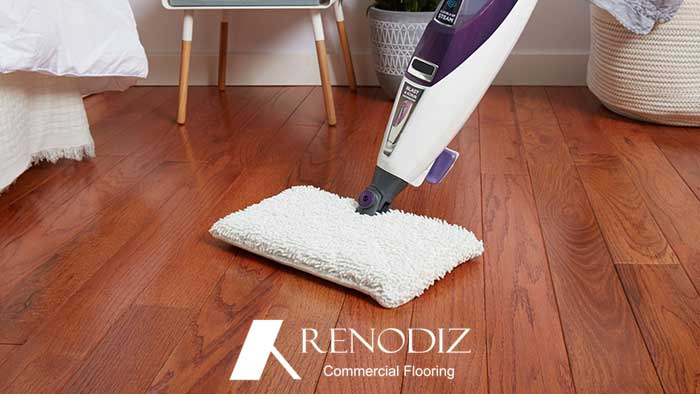 How to clean different flooring materials?